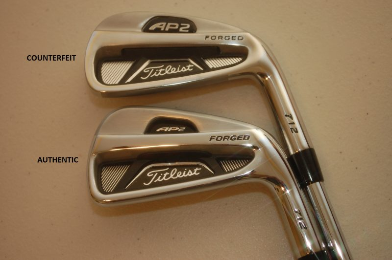 Counterfeit Titleist AP2 712 Irons O Golf Club Brokers Blog